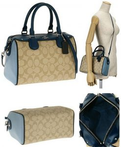 e006cd6d8603 COACH Bennett Satchel In Colorblock Signature F57495 – Your World Of Luxury