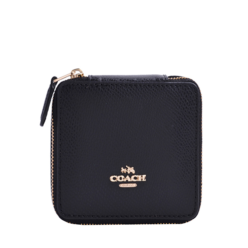 COACH Jewelry Box In Crossgrain Leather F66502 Your World Of Luxury