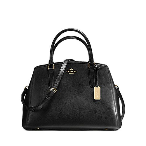 1c81f1adc965c COACH F57527 SMALL MARGOT CARRYALL IN CROSSGRAIN LEATHER Source · Home