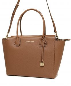 247bcf248539 MICHAEL KORS Mercer Large Leather Satchel 30H6GM9S3L – Your World Of Luxury