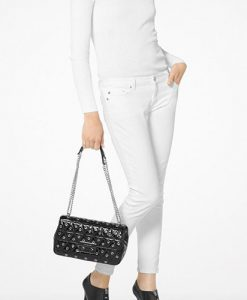 dfd2c6481b0f MICHAEL KORS Sloan Grommet Large Quilted Leather Chain Shoulder Bag  30F7SSLL3A – Your World Of Luxury
