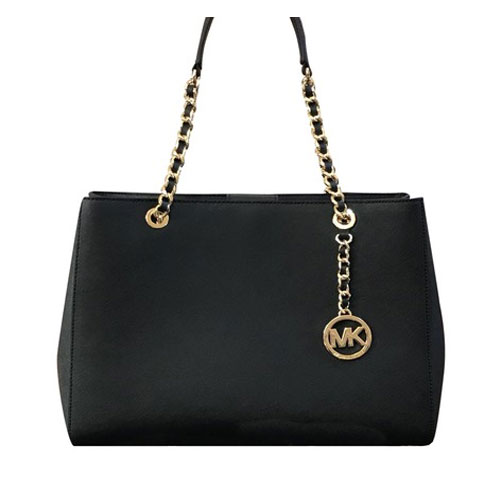 6ca6607564780c MICHAEL KORS Susannah Large Tote Chain Handbag 35H6GAHT7L – Your World Of  Luxury