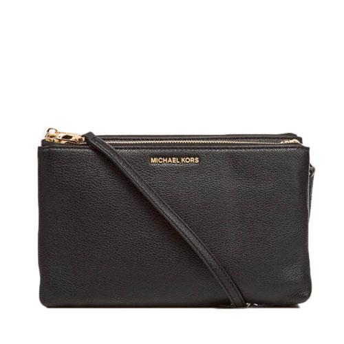 cd9ed7427d9f MICHAEL KORS Women's Adele Double Gusset Cross Body Bag 35F7GTVM3L – Your  World Of Luxury