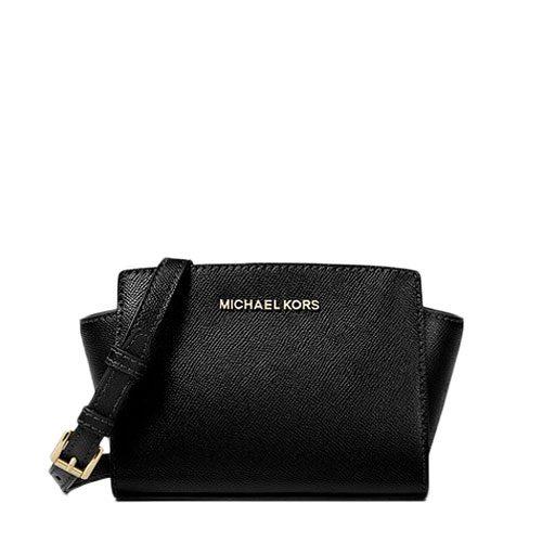 69f8c107d1f2 MICHAEL KORS Selma Mini Saffiano Leather Crossbody 35H8GLMC0L – Your ...